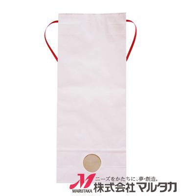 紐付カラークラフト米袋 KH-0870 さくら(無地) 5kg