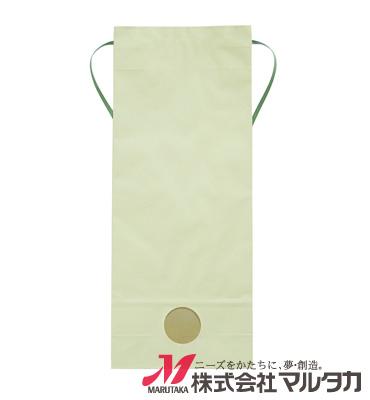 紐付カラークラフト米袋 KH-0880 わかば(無地) 5kg