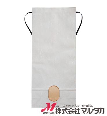 紐付雲龍和紙米袋 KH-0900 あさぎり(無地) 5kg